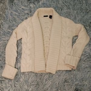 Moda super soft wool cardigan knitted sweater S